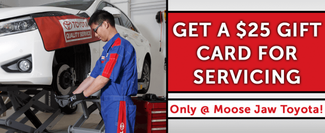 Get a $25 Gift Card for Servicing!