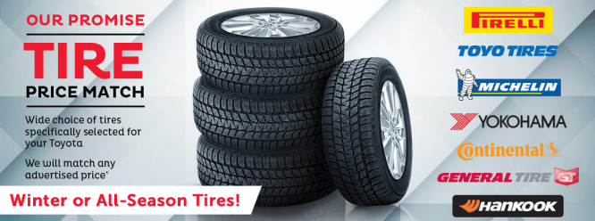 Tire Price Match Promise!