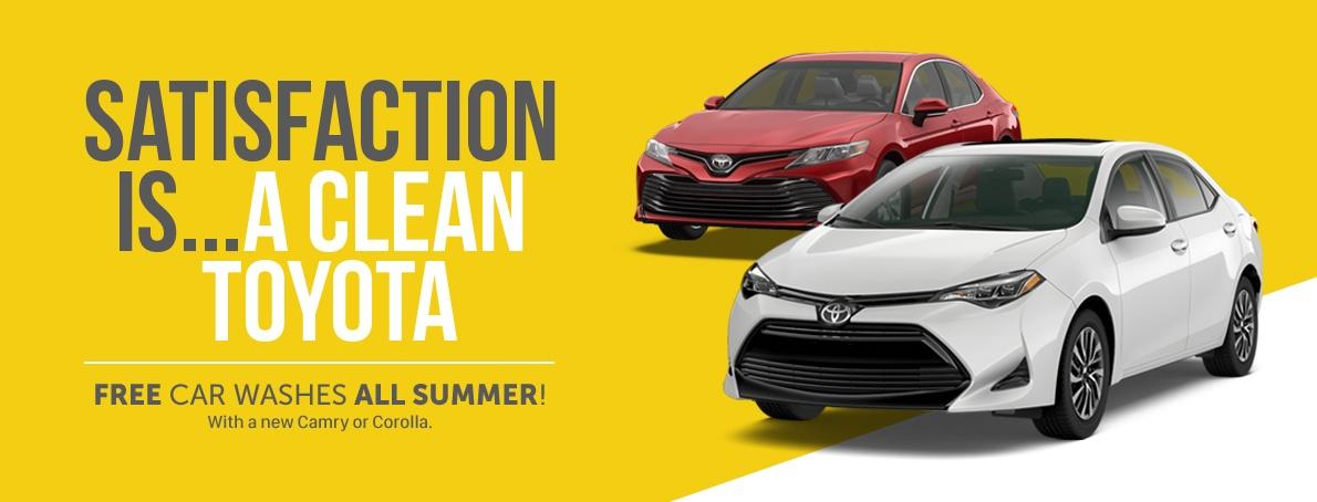 Free Car Wash Promo
