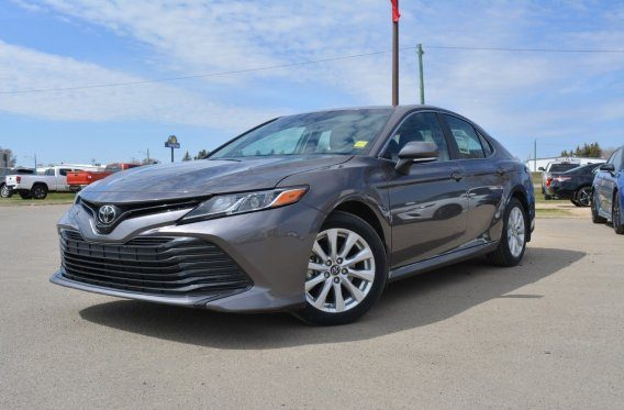 All-new for '18 – check out this Camry Demo with BIG savings!