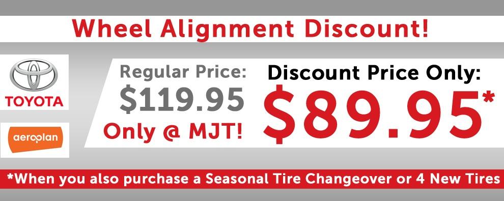 Wheel Alignment Discount!