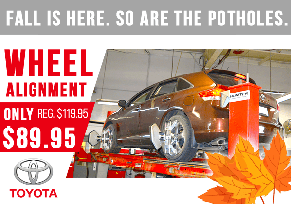 Wheel Alignment Discount!