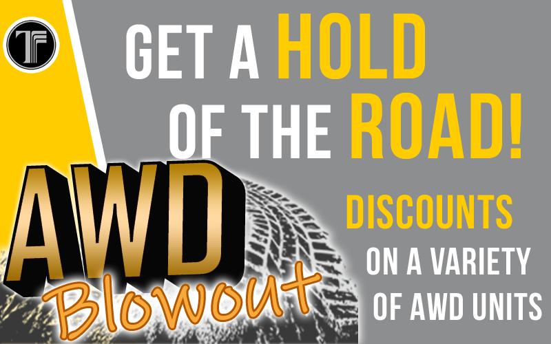 AWD Blowout!