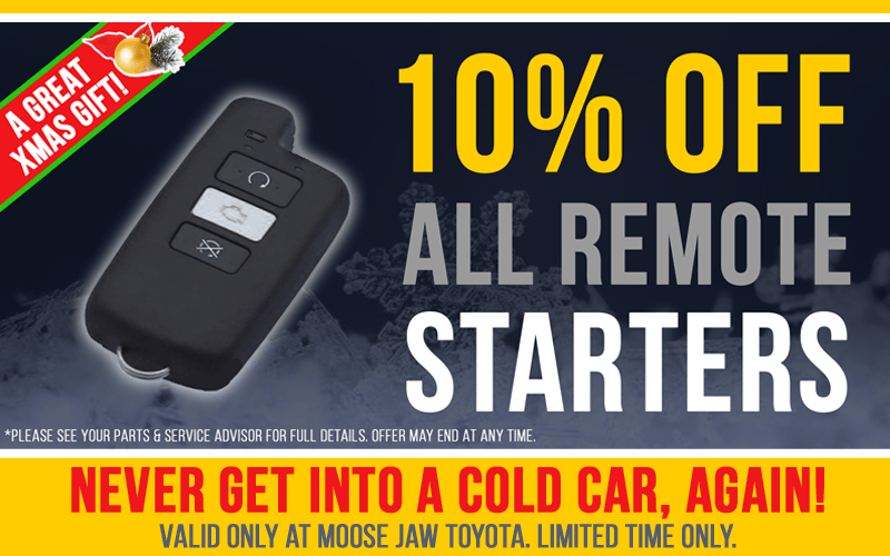 10% off Starters – An excellent Xmas Gift!