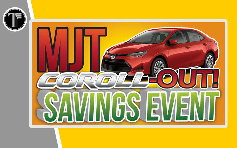 Coroll-Out Savings Event!