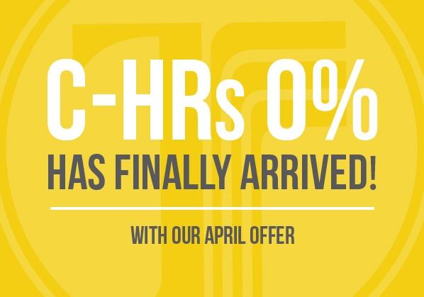 2019 C-HRs @ 0%!