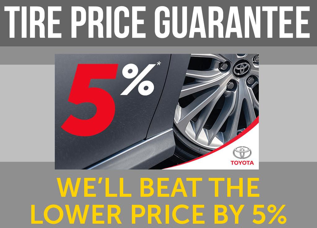 5% Price Guarantee!