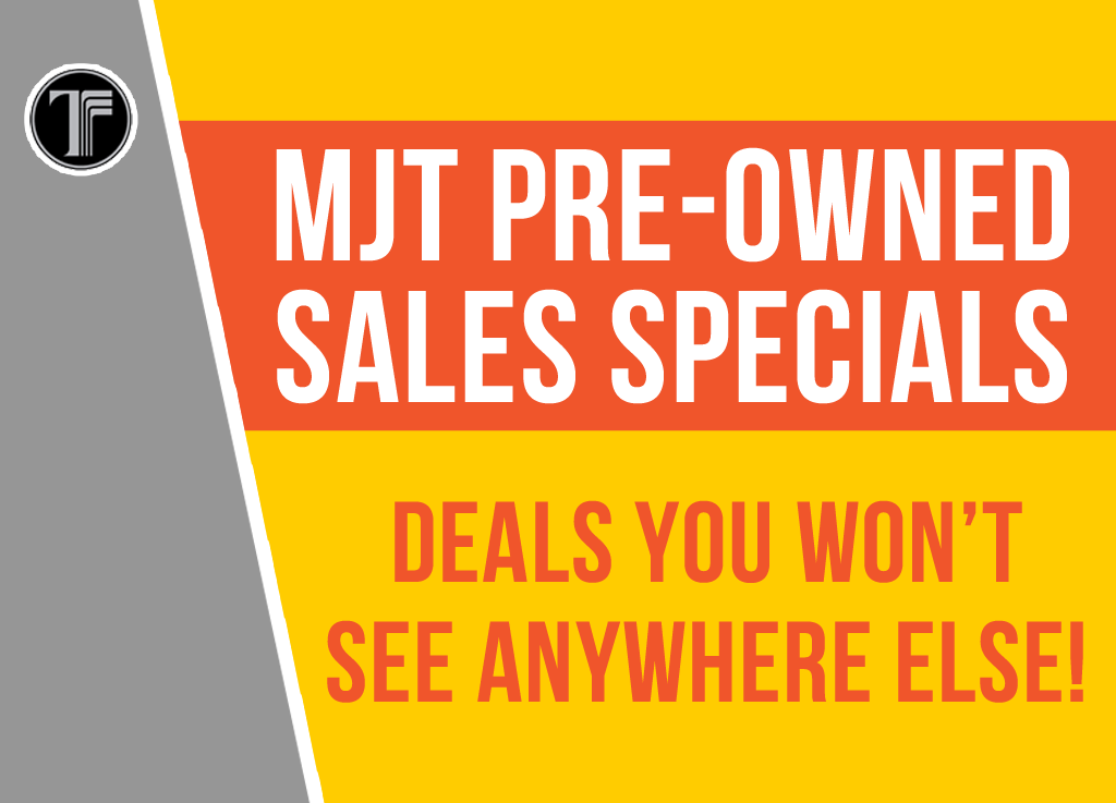 Pre-Owned Sales Specials!