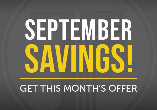 September Savings!