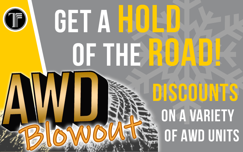 It's an AWD Blowout!