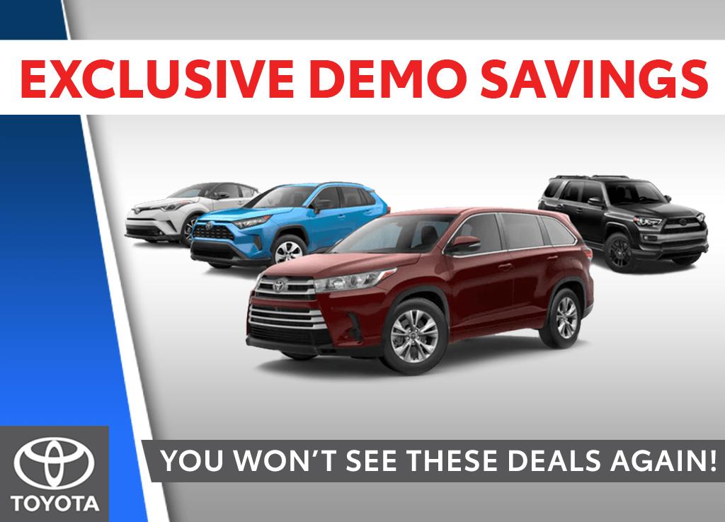 Exclusive Demo Savings!
