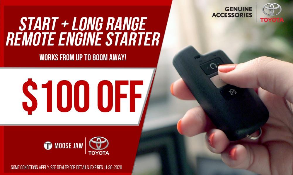 Toyota Start+ Long Rang Remote Engine Starter
