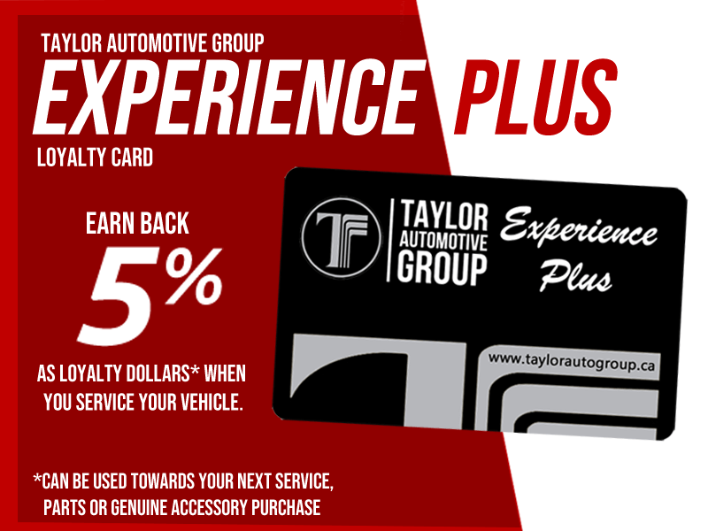 Experience Plus Loyalty Card
