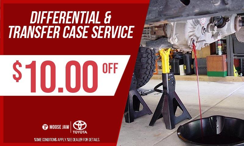 Differential & Transfer Case Service