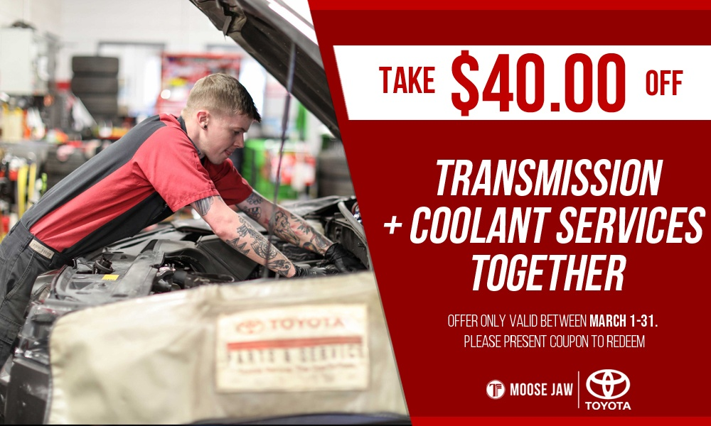 Transmission + Coolant Service Special
