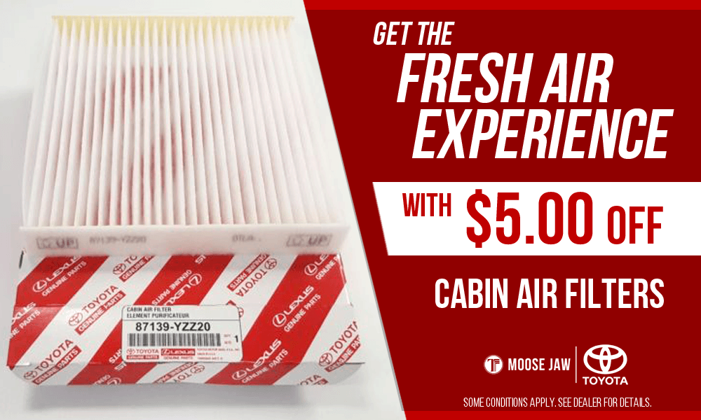 $5.00 OFF Cabin Filters