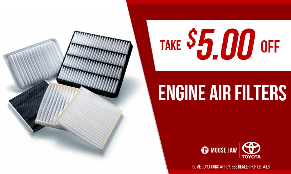 $5.00 off Engine Air Filters