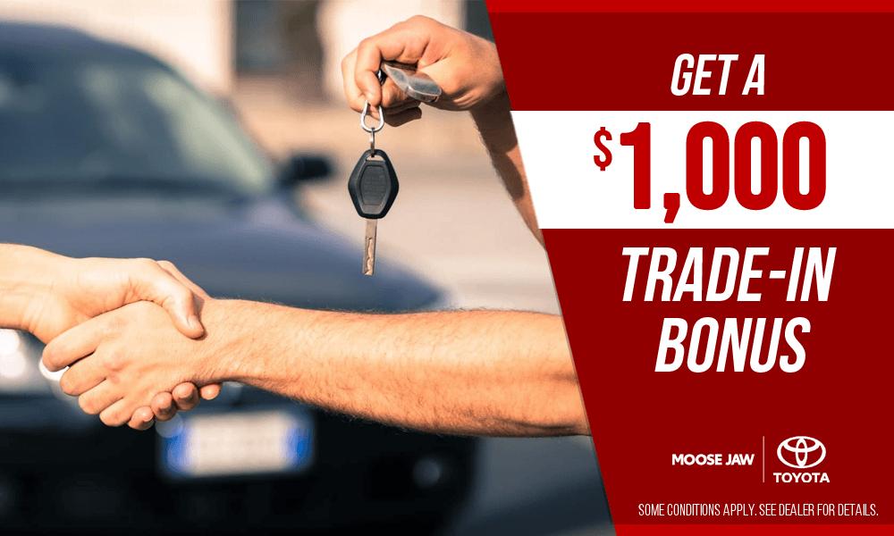 $1,000 Trade-In Bonus