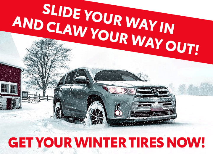GET YOUR WINTER TIRES NOW